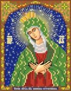 Рисунок на ткани для вышивки бисером  Икона Божией Матери Остробрамская-Виленская