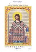 Рисунок на ткани для вышивки бисером Святой Артемий