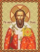 Рисунок на атласе для вышивки бисером Святой Григорий Богослов