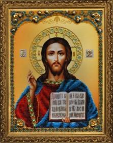 Набор для вышивки бисером Икона Христа Спасителя Картины бисером Р-123 - 660.00грн.