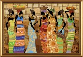 Набор для вышивки бисером Африканские красавицы Новая Слобода (Нова слобода) ДК1038 - 649.00грн.