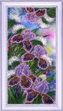 Набор для вышивки бисером Сверкающие ирисы Баттерфляй (Butterfly) 224Б