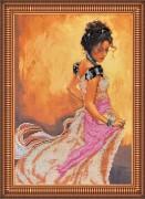 Набор для вышивки бисером Линия танца-2