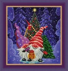 Набор для вышивки бисером Зимняя сказка Картины бисером Р-141