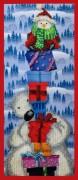 Набор для вышивки бисером Новогодняя пирамида