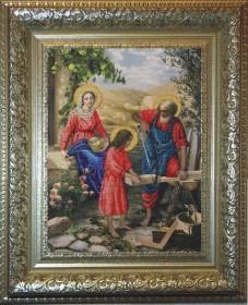 Набор для вышивки бисером Святое Семейство, , 472.00грн., 10411, Краса и творчiсть, Большие иконы