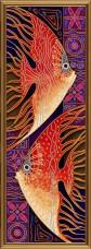 Набор для вышивки бисером Пара рыб Новая Слобода (Нова слобода) ДК6047
