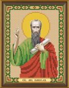 Рисунок на ткани для вышивки бисером Св. Ап. Павел
