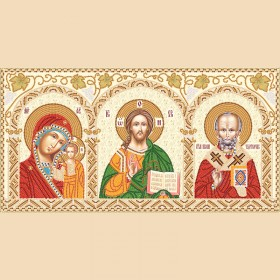 Набор для вышивки бисером Домашний иконостас Марiчка (Маричка) НИК-3-001 - 418.00грн.