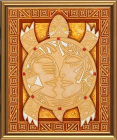 Набор для вышивки бисером Символ мудрости и долголетия Новая Слобода (Нова слобода) ДК3005 - 208.00грн.