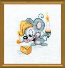 Набор для вышивки нитками С Днём Рождения Чарiвна мить (Чаривна мить) №310