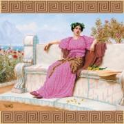 Рисунок на ткани для вышивки бисером Прекрасная Галатея