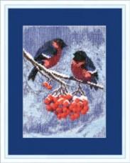 Набор для вышивки крестом Снегири Чарiвна мить (Чаривна мить) 283