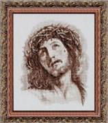 Набор для вышивки крестом Иисус в терновом венце