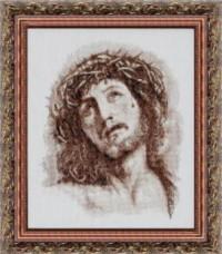 Набор для вышивки крестом Иисус в терновом венце Чарiвна мить (Чаривна мить) 417
