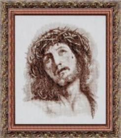 Набор для вышивки крестом Иисус в терновом венце, , 208.00грн., 417, Чарiвна мить (Чаривна мить), Иконы
