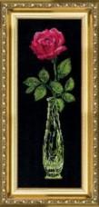 Набор для вышивки крестом Красная роза