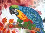 Рисунок на атласе для вышивки бисером Ара