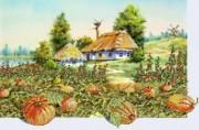 Рисунок на ткани для вышивки бисером Моя Украина