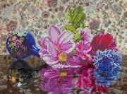 Рисунок на ткани для вышивки бисером Цветочная феерия