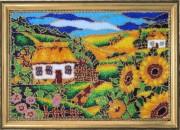 Набор для вышивки бисером На окраине села