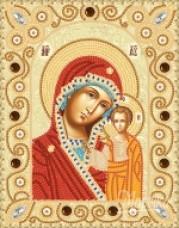 Набор для вышивки бисером Богородица Казанская Марiчка (Маричка) НИК-5302