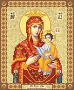 Рисунок на ткани для вышивки бисером Самонаписавшаяся икона Божьей Матери