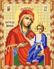 Рисунок на ткани для вышивки бисером Иверская икона Божьей Матери Марiчка (Маричка) РИП-5216