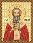 Рисунок на ткани для вышивки бисером Св. Анатолий Патриарх Константинопольский