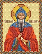 Рисунок на ткани для вышивки бисером Св. Прп. Геннадий Костромской