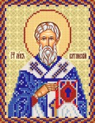 Рисунок на ткани для вышивки бисером Св. Лев Катанский, епископ