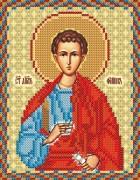 Рисунок на ткани для вышивки бисером Св. Апостол Филипп