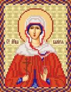 Рисунок на ткани для вышивки бисером Св. Мч. Калерия (Валерия)