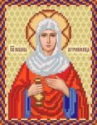 Рисунок на ткани для вышивки бисером Св. Иоанна Мироносица (Яна, Жанна)