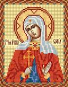 Рисунок на ткани для вышивки бисером Св. Мч. София