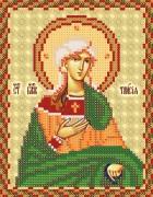 Рисунок на ткани для вышивки бисером Св. Блж. Таисия