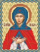 Рисунок на ткани для вышивки бисером Св. Прп. Аполлинария (Полина)