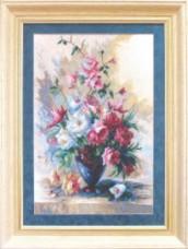 Набор для вышивки крестом Весенний букет Чарiвна мить (Чаривна мить) А127