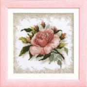 Набор для вышивки крестом Розовые мечты