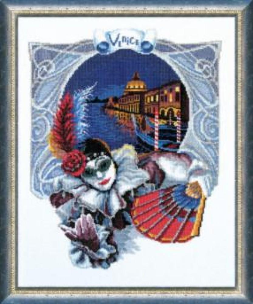 Наборы вышивки крестом венеция