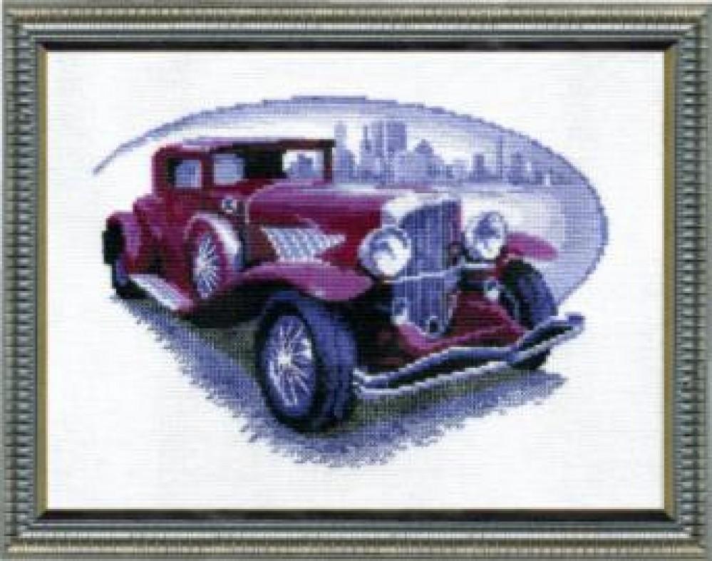 Вышивка наборы автомобили