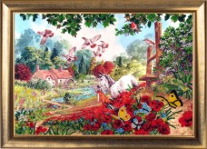 Набор для вышивки бисером Дорога к дому Баттерфляй (Butterfly) 595Б