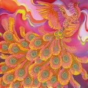 Рисунок на холсте для вышивки бисером Огненная птица