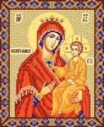 Рисунок на ткани для вышивки бисером Икона Божьей Матери Избавительница