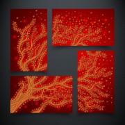 Рисунок на ткани для вышивки бисером Дерево жизни. Огонь