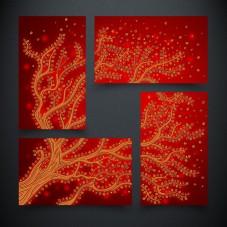Рисунок на ткани для вышивки бисером Дерево жизни. Огонь А-строчка АРЗ-005
