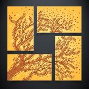 Рисунок на ткани для вышивки бисером Дерево жизни. Земля