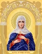 Рисунок на ткани для вышивки бисером Св. Мученица Наталья