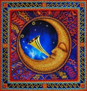 Набор для вышивки бисером Лунные ритмы 1