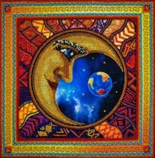 Набор для вышивки бисером Лунные ритмы 2 Картины бисером Р-151